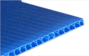 水・湿気に強い丈夫なプラスチック製ダンボール