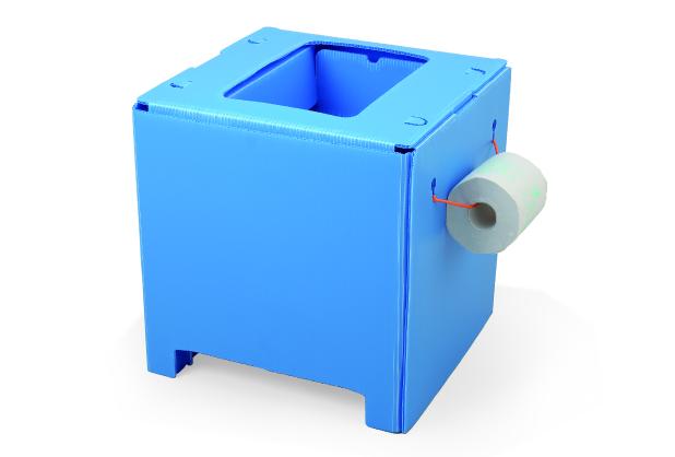 和式トイレでも使用できる組み立て式便器