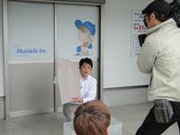 テレビ大阪「NEWS BIZ」ジョージの百葉箱で「吸水土のうスーパーバリア120」が紹介されました