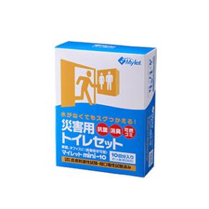 消臭・抗菌の災害用トイレセット