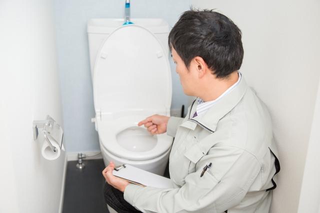 トイレ 断水
